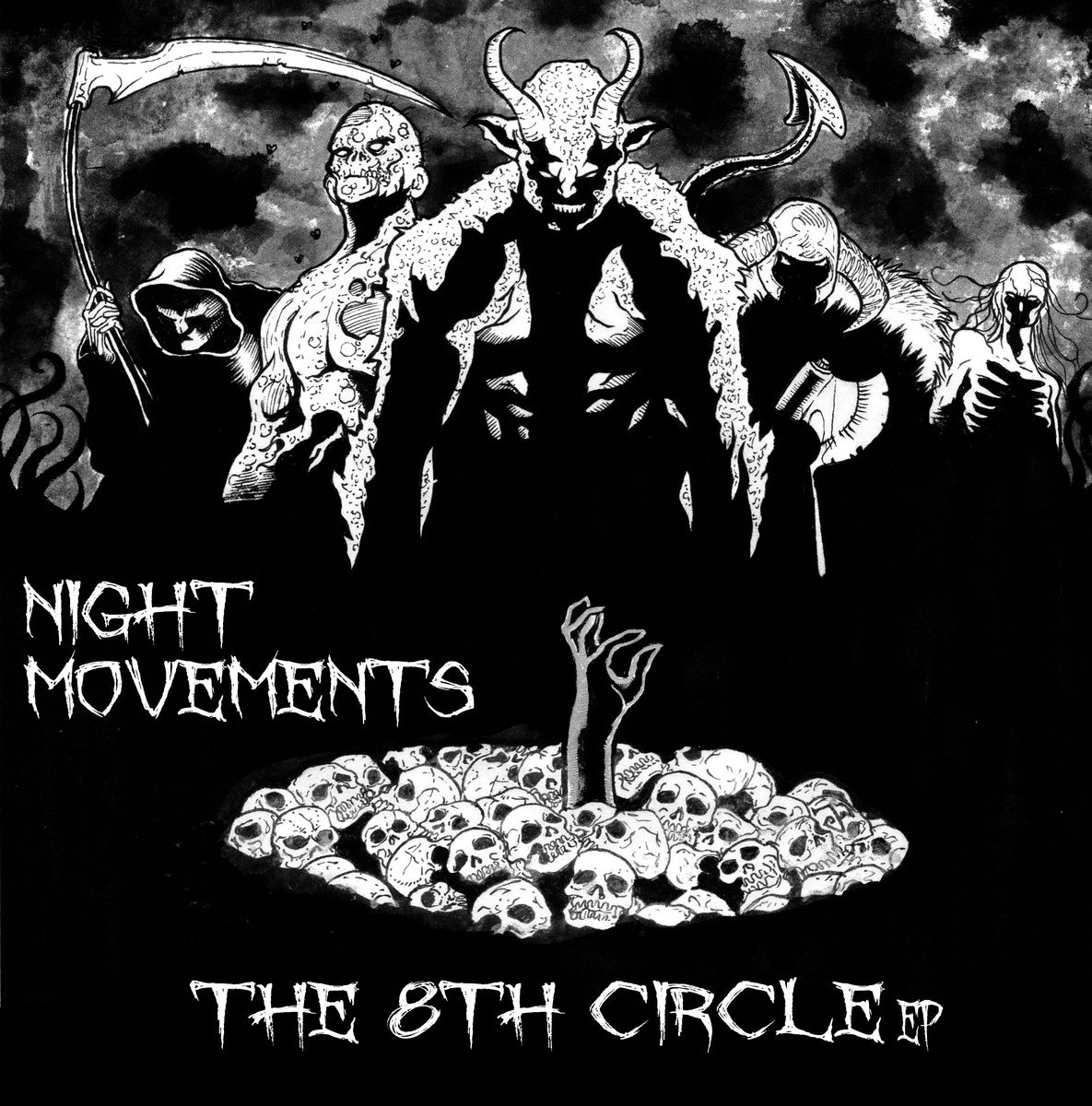 Night Movements - The 8th Circle E.P.