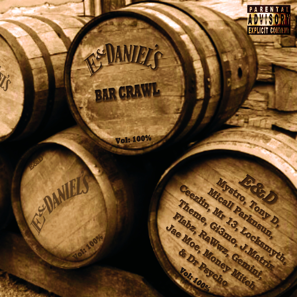 E And Daniel's – Bar Crawl E.P.