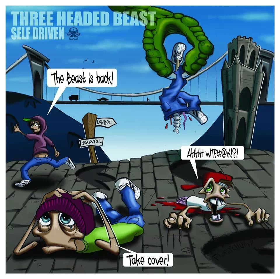 The Three Headed Beast - Self Driven
