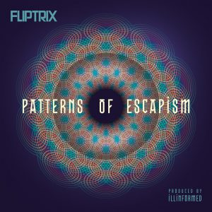 Fliptrix - Patterns Of Escapism - Artwork